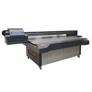Έγχρωμος εκτυπωτής επίπεδης επιφάνειας 4 × 8 ποδιών με κεφαλή εκτύπωσης konica & ricoh