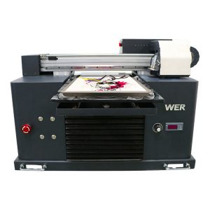 a4 dtg επίπεδη βαμβακερό ύφασμα εκτυπωτή t-shirt μηχανή εκτύπωσης