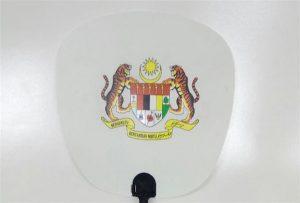 Δείγμα πλαστικού ανεμιστήρα εκτυπωμένο με μέγεθος εκτυπωτή A1 μέγεθος 6090UV