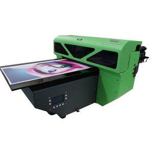 A2 εκτυπωτής επίπεδης επιφάνειας μικρού τύπου με 1 κεφαλή εκτύπωσης dx5