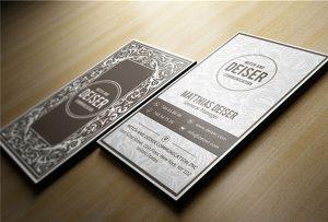Ξύλινη κάρτα ονόματος εκτυπωμένη από A1 uv WER-EP6090UV